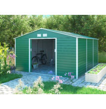 G21 GAH 1300 - 340 x 383 cm kerti ház, zöld (63900586)
