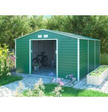 G21 GAH 1300 - 340 x 383 cm kerti ház, zöld
