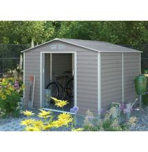 G21 GAH  706 - 277 x 255 cm-es kerti fém ház, szürke (63900551)