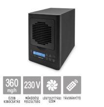 OZONEGENERATOR Home 360M légtisztító és ózongenerátor készülék 3 év garanciával (OG-HE-250-M)