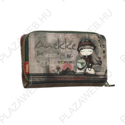 Anekke Egypt Pénztárca Patentos-Cipzáras, 15X2,5X9,5 cm (EPT390)