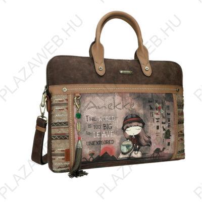 Anekke Egypt Üzleti táska, Merev Fogóval, 43X6X20 cm (ITAIT4308)