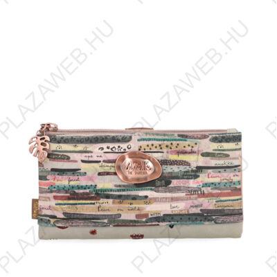 Anekke pénztárca jungle felnőtt patentos, cipzáras, 20x2x10cm (30719-06JUS)