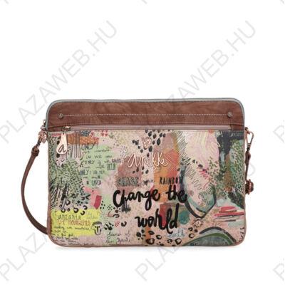Anekke jungle felnőtt laptop, oldal táska, 39x2x29cm (30717-20JUS)