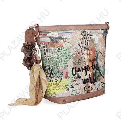 Anekke jungle felnőtt oldal táska, 34/26x12,5x30cm (30712-38JUS)