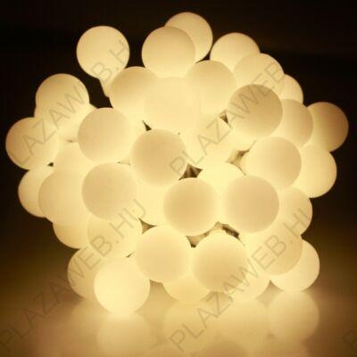 DekorTrend Kültéri Gyöngy fényfüzér 180 LED MELEG FEHÉR KDG 181