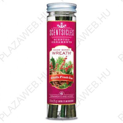 DekorTrend Illatpálca fagyöngy illat (piros) (KSC 003)