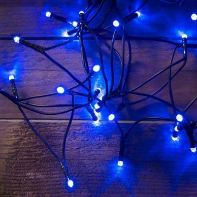 DekorTrend Beltéri LED Fényfüzér 120db HIDEG KÉK LED 9,6 méter KDL 123