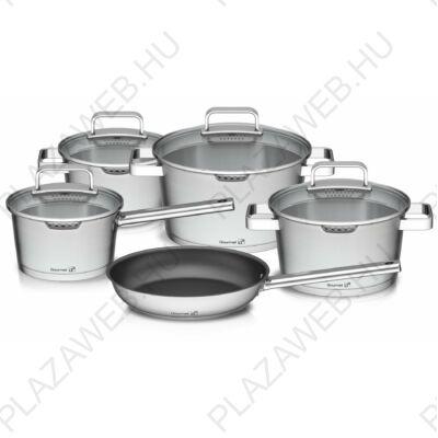 G21 Gourmet Magic 9 darabos edénykészlet fedővel, alumínium 60022151