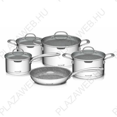 G21 Gourmet Miracle 9 darabos edénykészlet  rozsdamentes acél / greblon 60022154