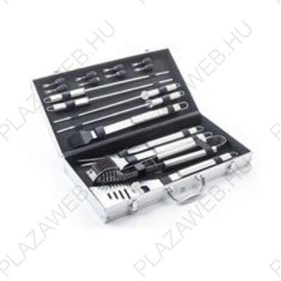 G21 Grillező segédeszköz szett 17 db, alumínium koffer (635393)