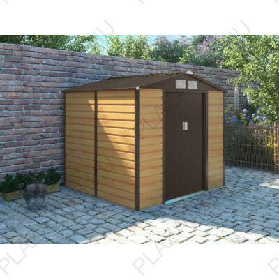 G21 GAH 407 - 213 x 191 cm-es kerti fém ház, barna (63900525)