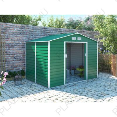 G21 GAH 529 - 277 x 191 cm-es kerti fém ház, zöld (63900537)