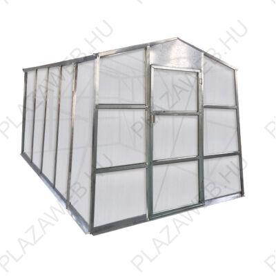 Üvegház G21 GZ 59 - 251 x 311 cm, galvanizált, alapzattal (63900621)