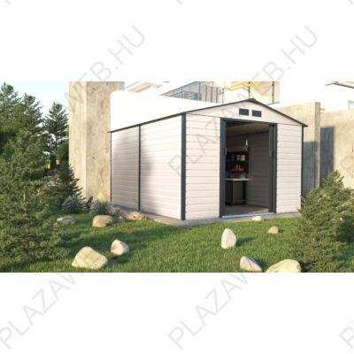 G21 GAH 884 - 277 x 319 cm-es kerti fém ház, bézs és szürke (6390066)