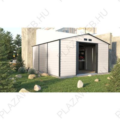 G21 GAH 1300 - 340 x 382 cm-es kerti ház, bézs és szürke (6390068)