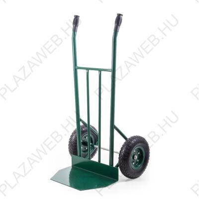 G21 Profi molnárkocsi, 280 kg, felfújható kerekek, zöld (6390868)