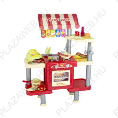 G21 Játék gyors-étkezde felszereléssel és játékétellel (690678)