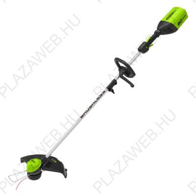 Greenworks GD60LT Akkus szegélyvágó kasza 60V-os indukciós motorral (2103207)