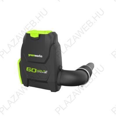 Greenworks GD60BLB Akkus háti lombfúvó 60V-os indukciós motorral (2402307)