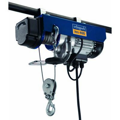 Scheppach HRS 400 elektromos drótköteles csörlő-emelő (4906905000)