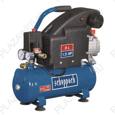 Scheppach HC 08 - olajkenésű kompresszor  8 l  (5906119901)