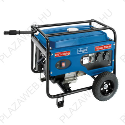 Scheppach SG 3100 2 800 w-os vázszerkezetes áramfejlesztő avr szabályozással (5906213901)