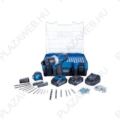 SCHEPPACH DTB 20 PROS akkus ütvefúró készlet 2x2.0Ah 20V (5909222904)
