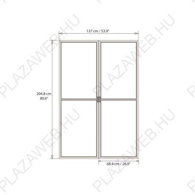 Palram Torino ajtó (szürke)  (704949)