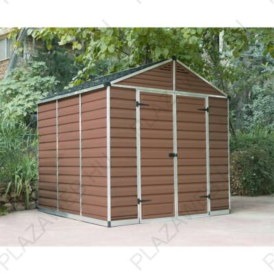 Palram Skylight 8x8 barna kerti házak (703760)