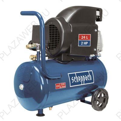Scheppach HC 26 olajkenésű kompresszor 24 l (5906135901)