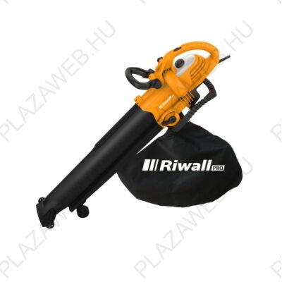 Riwall PRO REBV 3000 elektromos lombszívó/lombfúvó 3000 W motorral (EB42A1401009B)