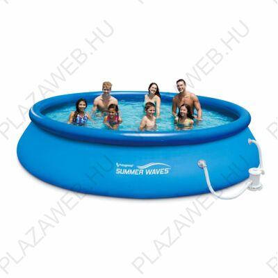 Polygroup Summer Waves®, 3, 66 méteres puhafalú medence, vízforgatóval (SW QS366x76FP)