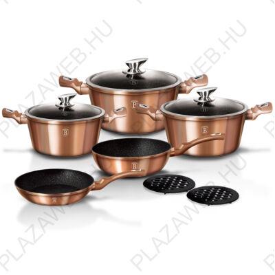 BERLINGER HAUS BH-1220N-2  10 részes edénykészlet, Copper Metallic Line