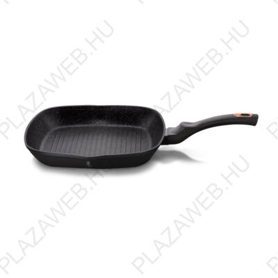 BERLINGER HAUS BH-1636N  Grill serpenyő 28 cm, Black Rose Collection