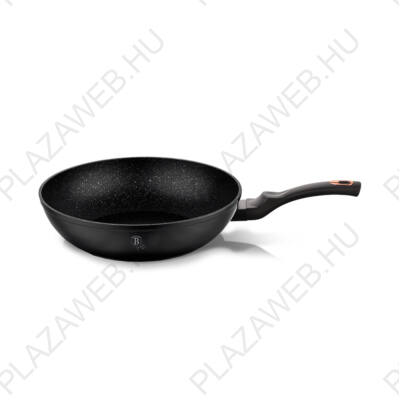 BERLINGER HAUS BH-1638N  Wok, 28 cm, Black Rose Collection AJÁNDÉK ALÁTÉT