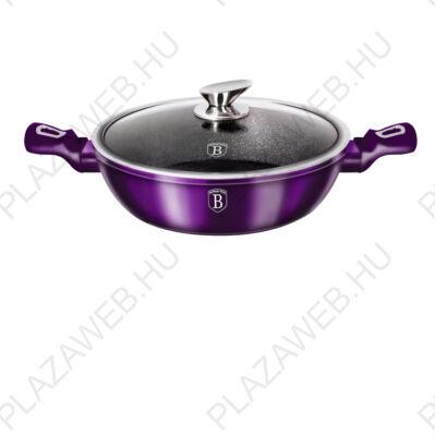 BERLINGER HAUS BH-1863  Lábas, 28 cm, Metallic Line Royal Purple Edition