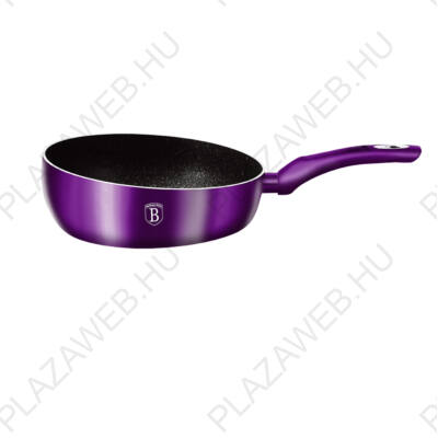 BERLINGER HAUS BH-1867  Flip Serpenyő, 26 cm, Metallic Line Royal Purple Edition AJÁNDÉK ALÁTÉT