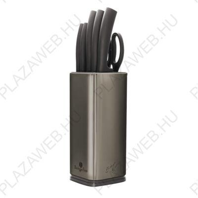 BERLINGER HAUS BH-2403  7 részes késkészlet, Metallic Line Carbon Edition