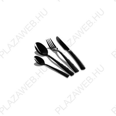 BERLINGER HAUS fekete 6 személyes evőeszköz készlet, speciális minta
