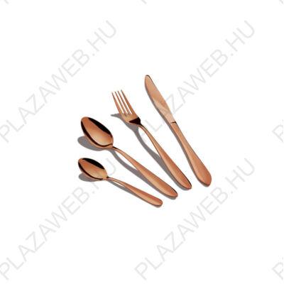 BERLINGER HAUS BH-2623 rose gold 6 személyes rozsdamentes acél evőeszköz készlet, tükörfénnyel (BH/2623)
