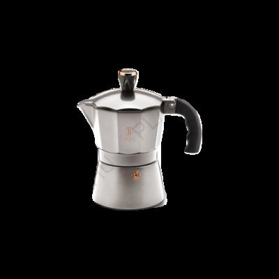 Berlinger Haus Moonlight Collection 3 személyes kávéfőző, szürke/rosegold BH-6389