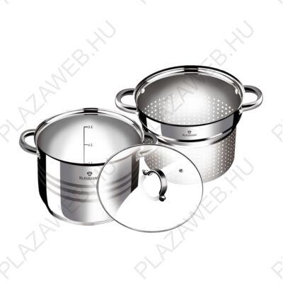 Blaumann BL-3132  3 részes Tészta és levesfőző készlet, SS, 20 cm, Gourmet Line